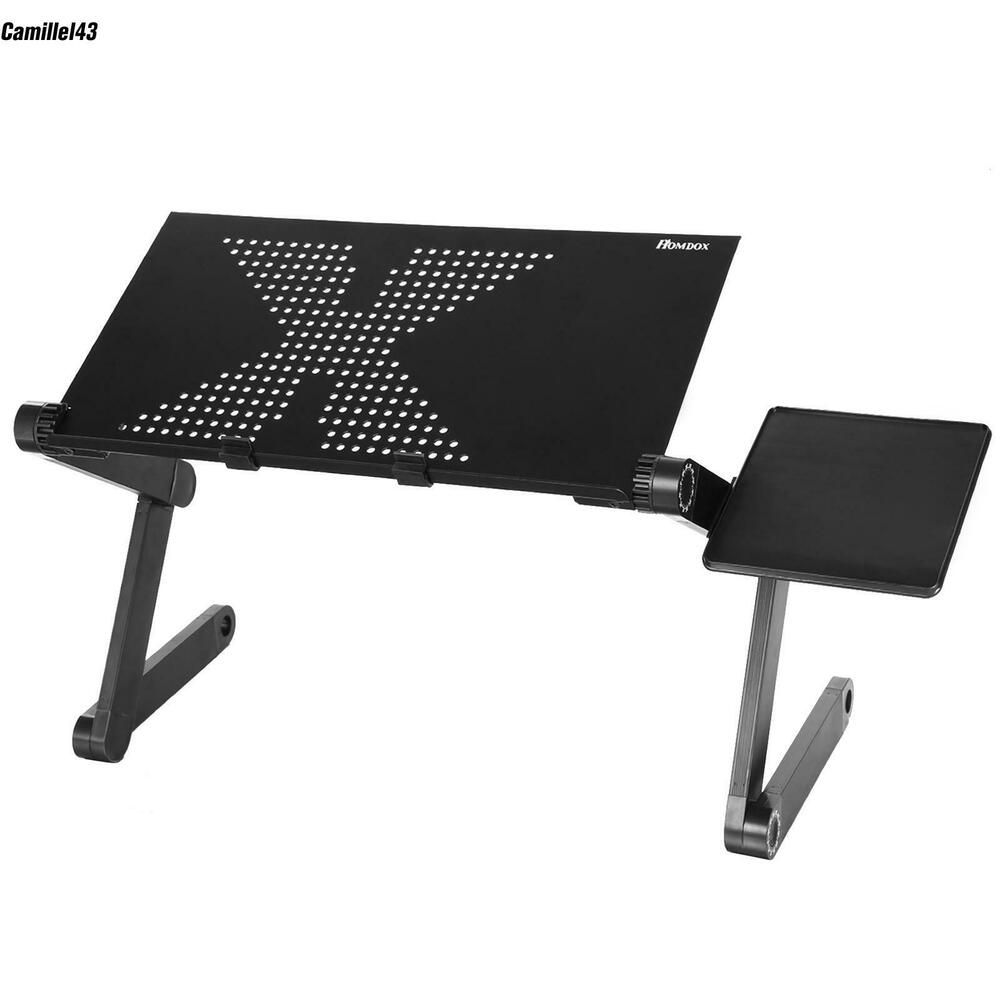 Hot 360°Adjustable Vented Foldable Laptop Notebook PC Table Desk Portable Tray