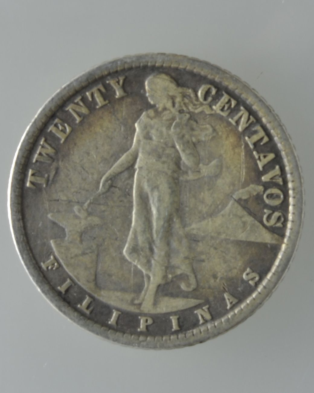 U S Philippines 20 Cents Silver Coin 1929m Manila Mint Us