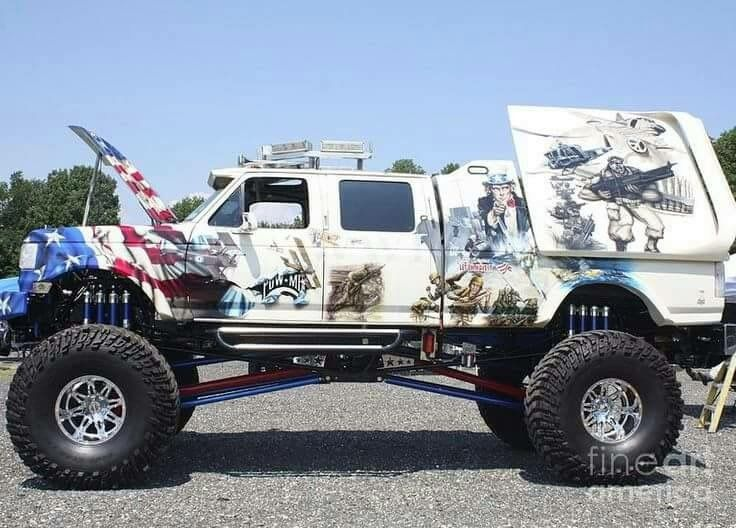 Pin by joseph opahle on big bigger biggest Truck paint