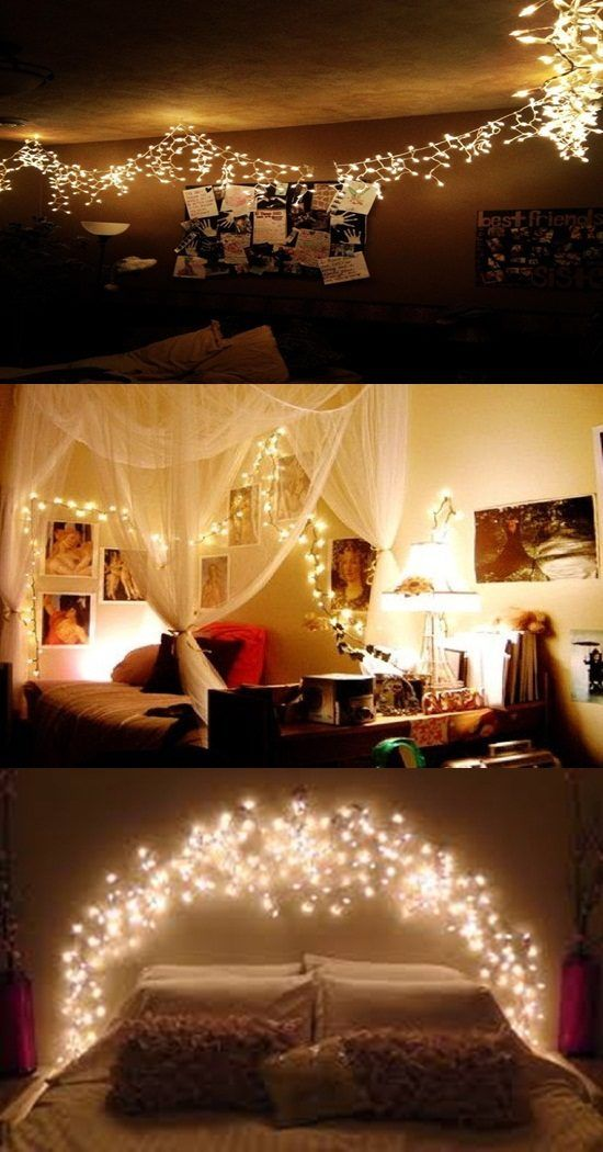 Ideas To Get A Romantic Bedroom With Christmas Light Christmas