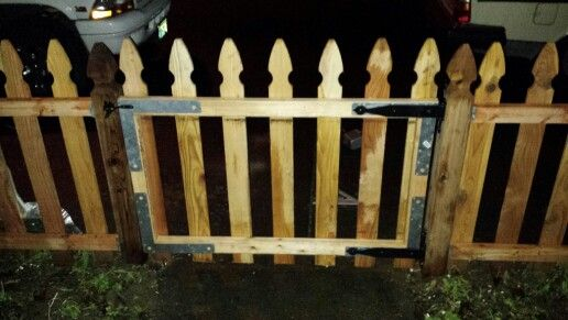 A gate I built for my mom's fence