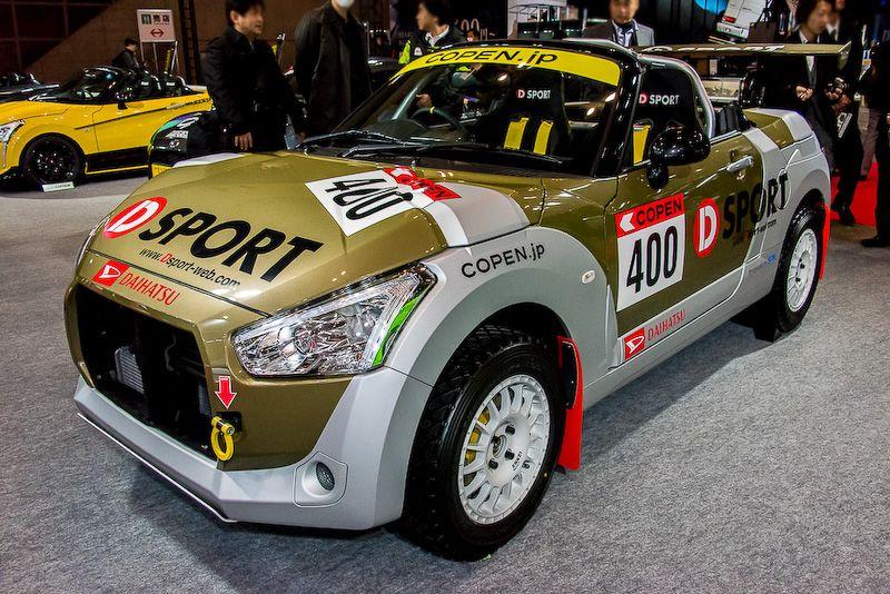D Sportによるオフロード仕様をイメージしたコペン Cars