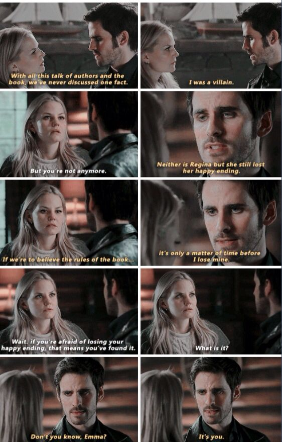 Poor Unfortunate Soul. These two. #CaptainSwan #LoveAndAdore