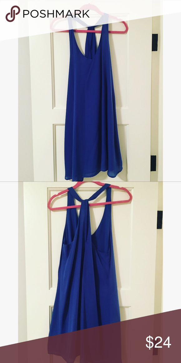 GLAMOROUS Blue Dress Simple blue dress, very flattering. Glamorous Dresses Mini