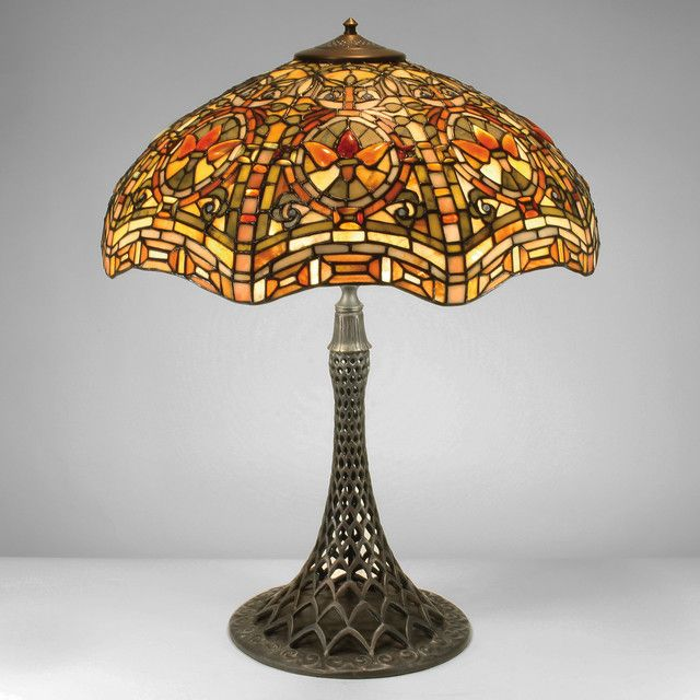 craftsman style table tiffany lamps on ebay small uk