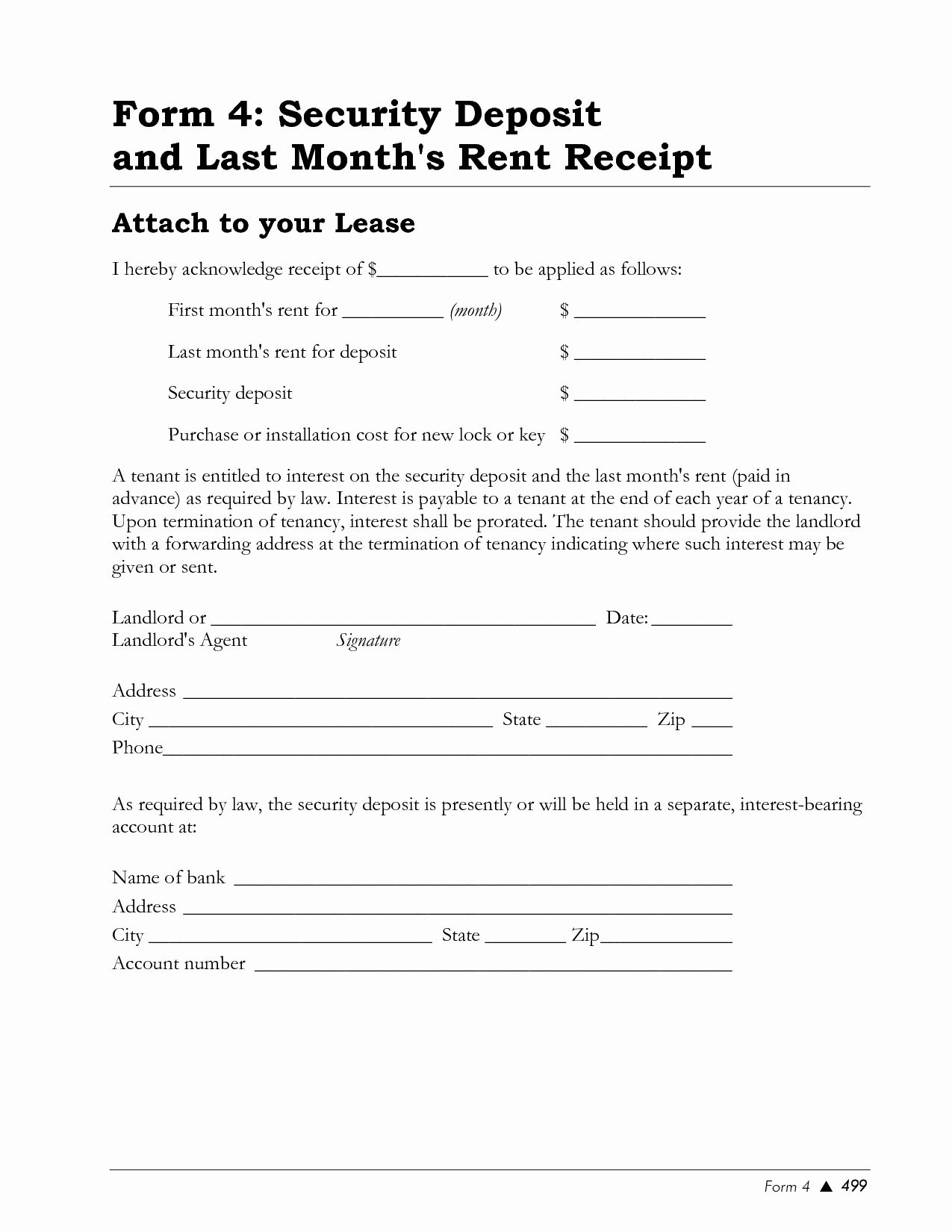 Rent Deposit Receipt Template Elegant Best S Of Rental Deposit Receipt Template Rent Receipt Template Employee Handbook Template Receipt
