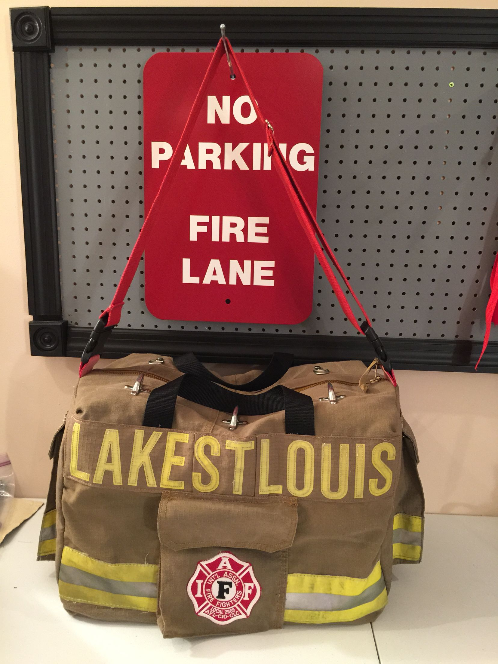 Recycled bunker gear bags - Station Bag By Recover Gear Bags Llc Made From Recycled Firefighter Bunker Gear Find
