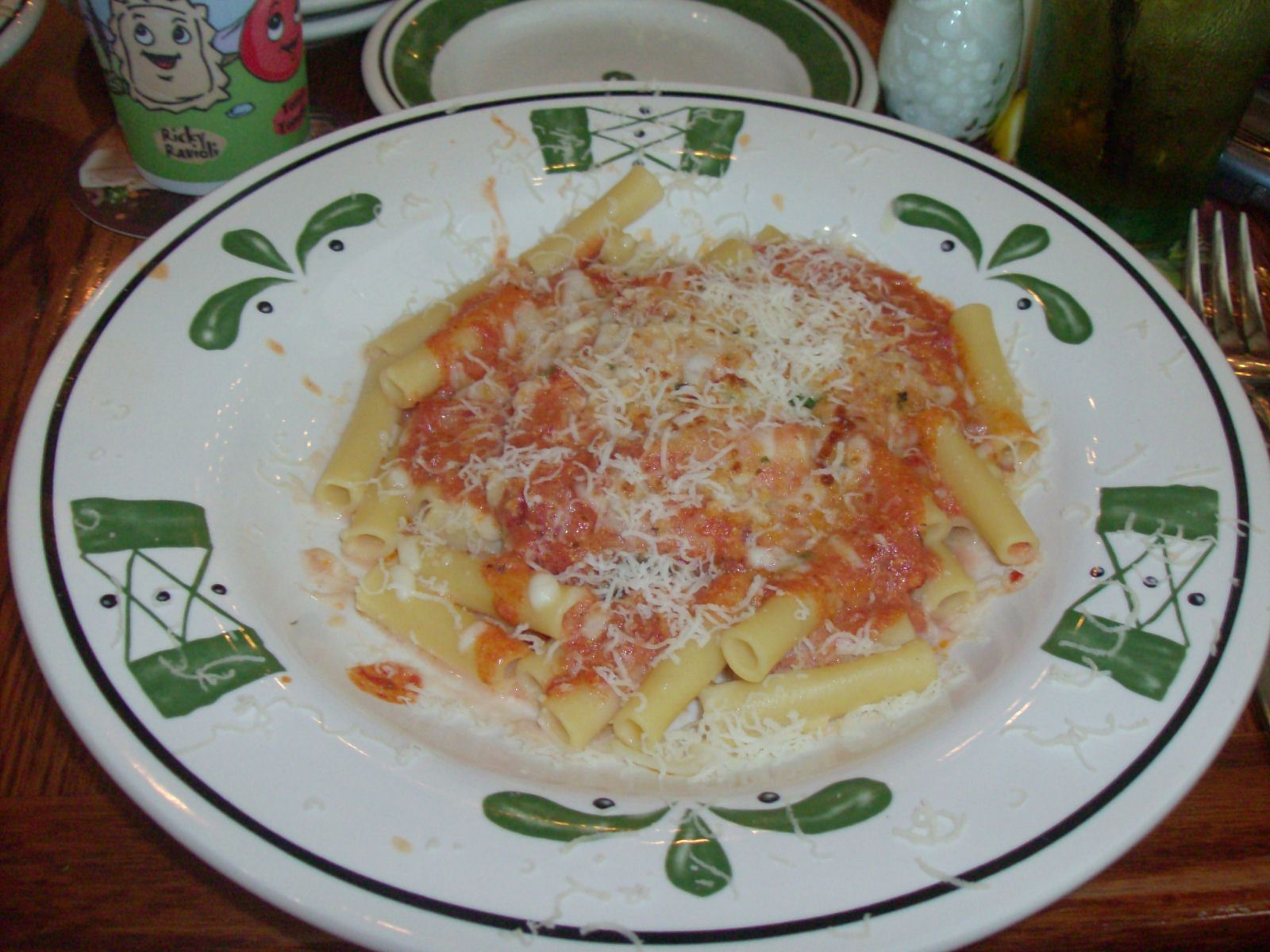 Olive Garden\'s Five Cheese Ziti al Forno recipe. 5 stars. I thought ...