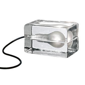 Block Lamp bordslampa svart sladd | Lamp design, Black lamps