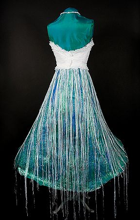 Wearable Art Recycled Sustainable Fashion Design