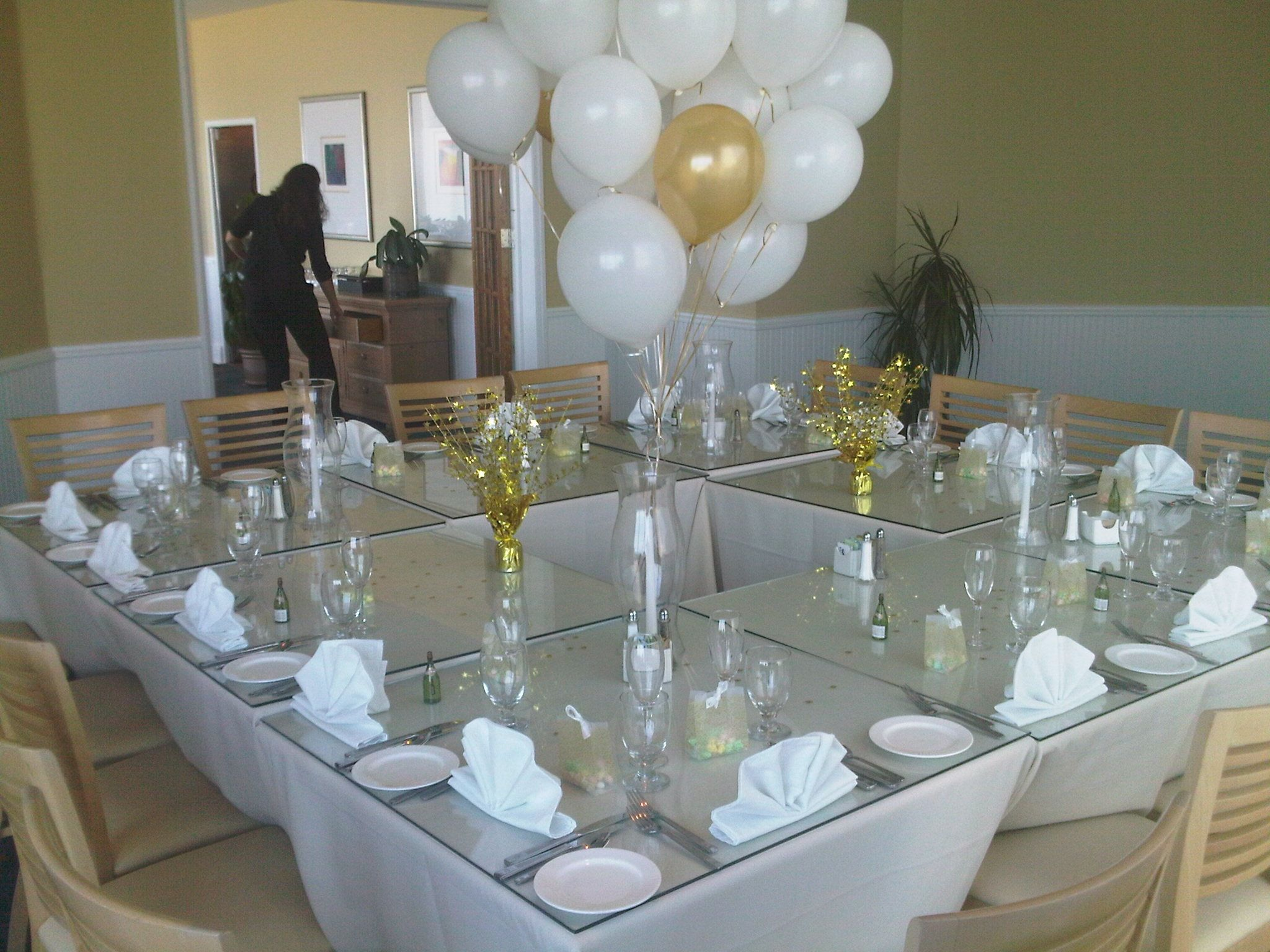 Beach Wedding Reception Small Event In Oceanfront Private Dining Room Hilton Myrtle SC