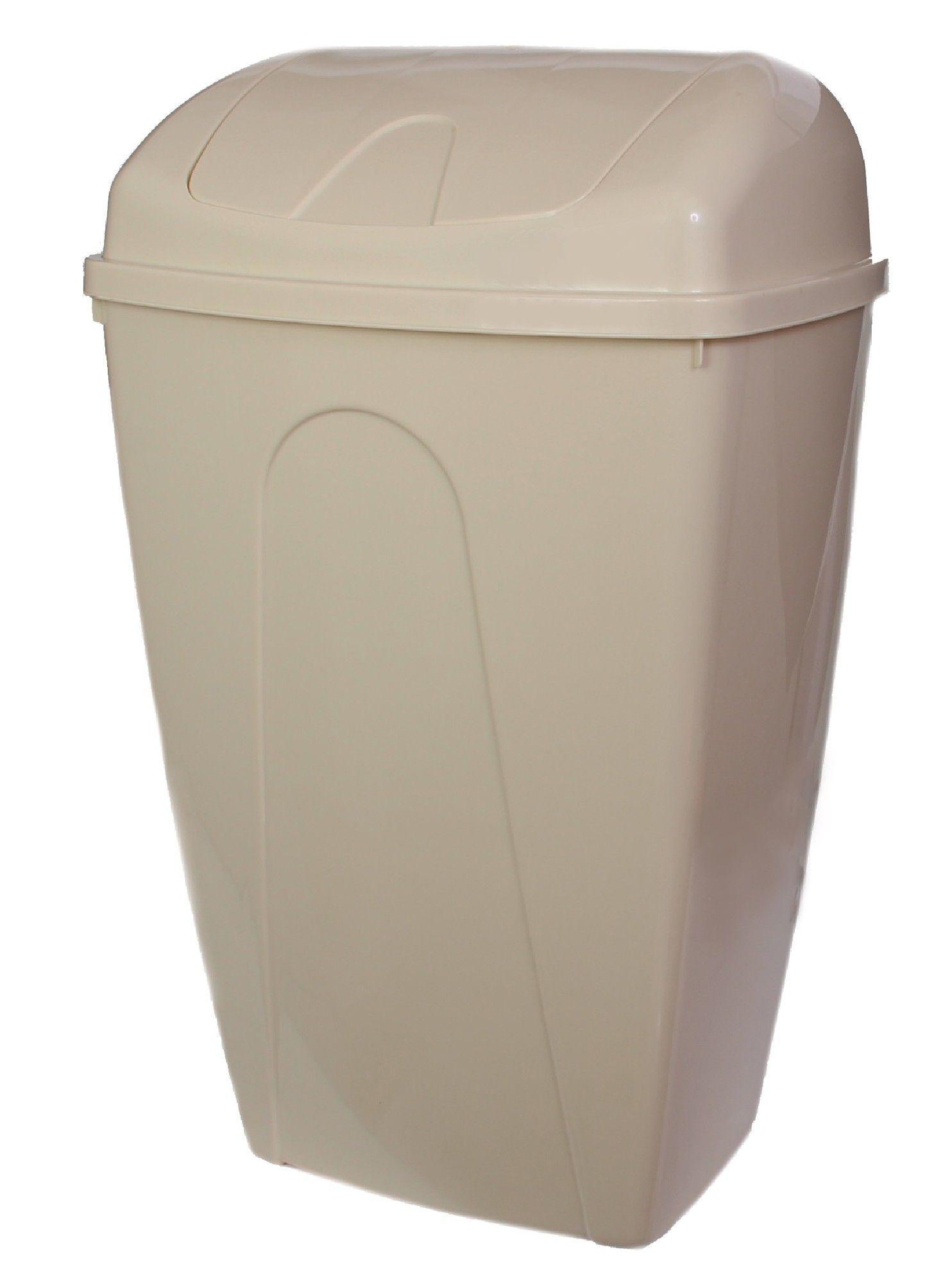 Plastic 13 Gallon Swing Top Trash Can Swing Top Sink