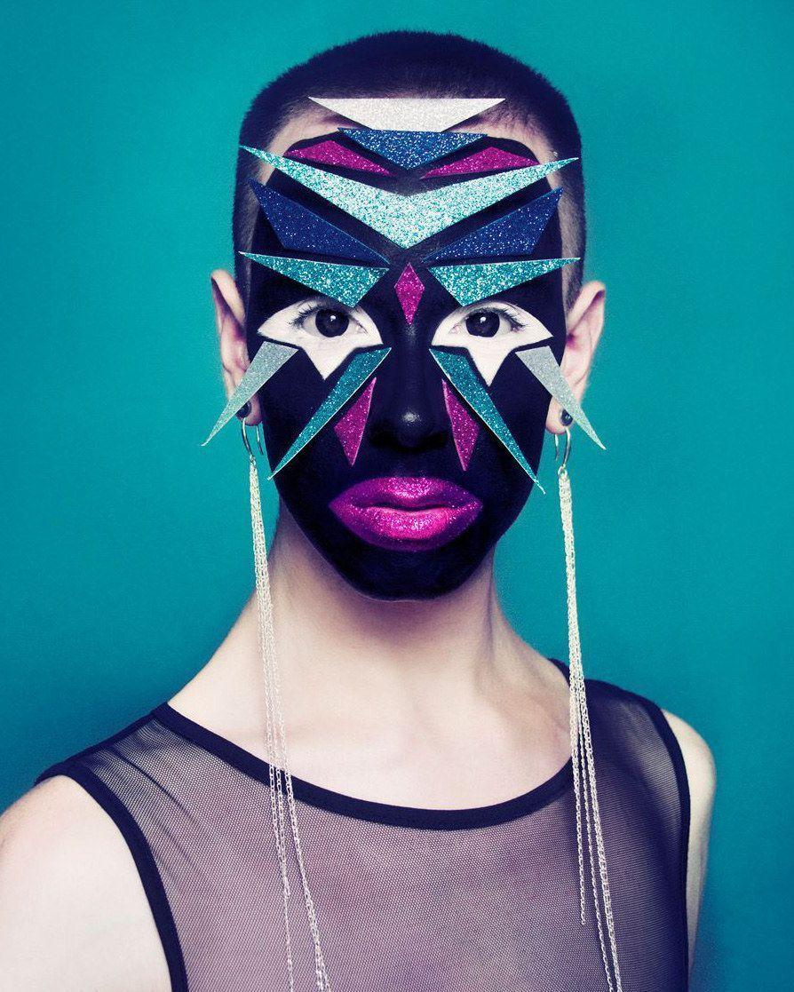 You guys, this angel is Ryan Burke, the world's most incredible makeup artist.#a in 2020 | Makeup art, Makeup, Avant garde makeup
