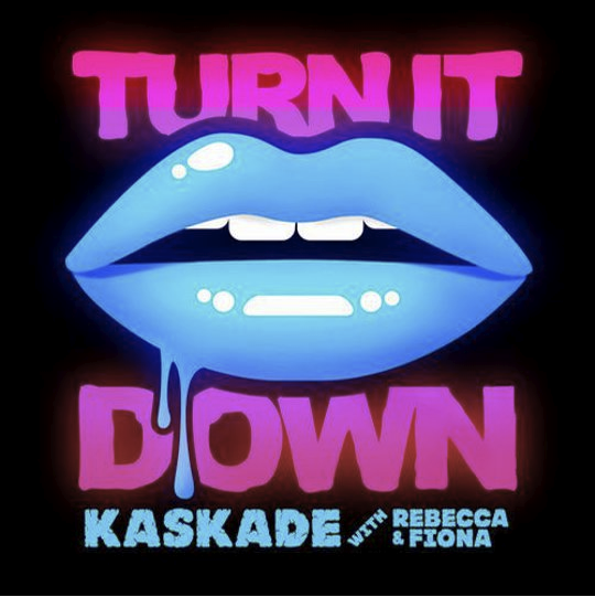 """""""turn it down"""" Kaskade, Turn ons, Neon"""