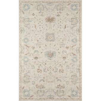 Zellner Oriental Handmade Tufted Wool Beige Gray Area Rug Area Rugs Beige Rug Traditional Area Rugs