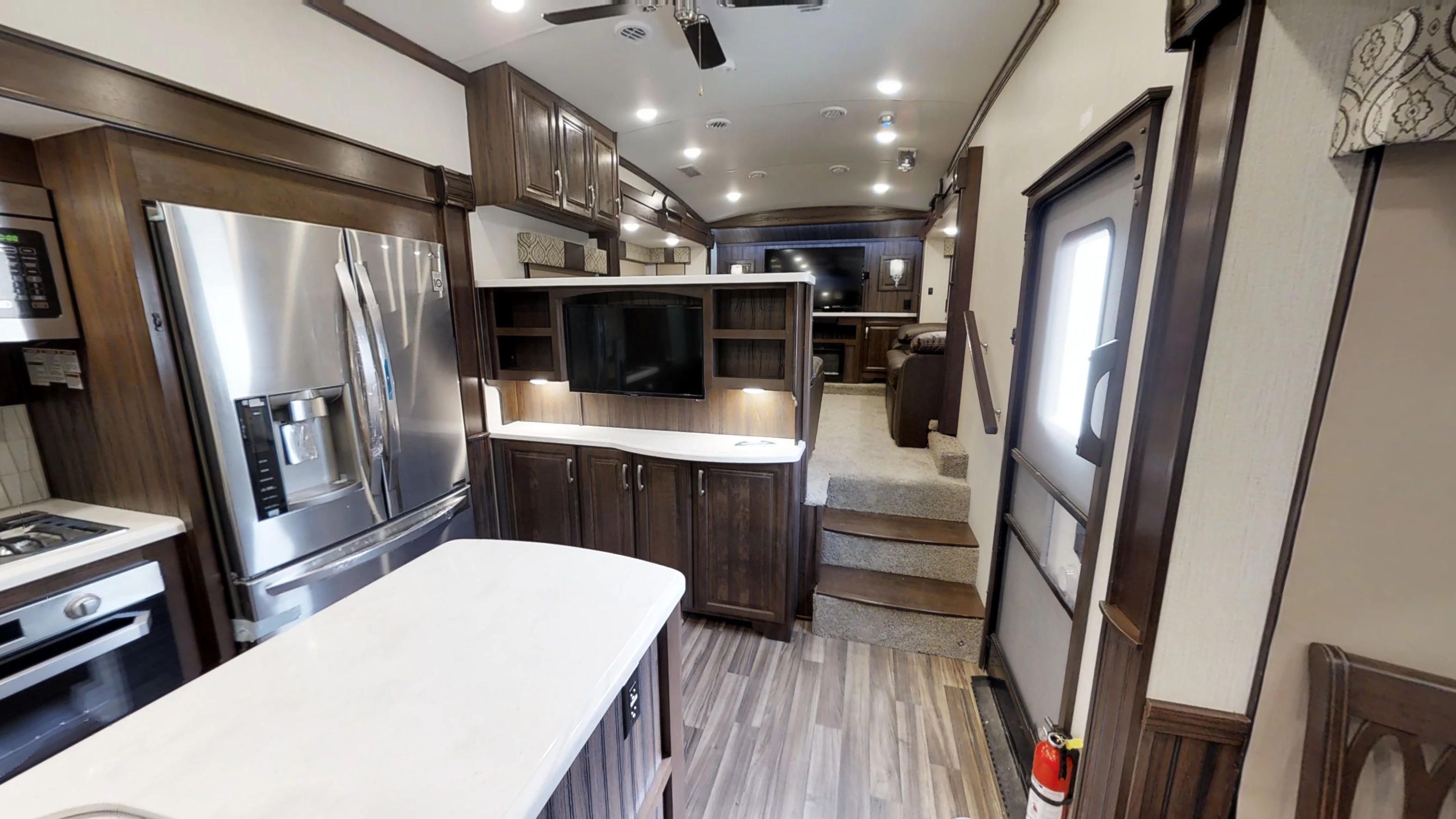 Cardinal Luxury 3950tzx Fifth Wheels By Forest River Rv House