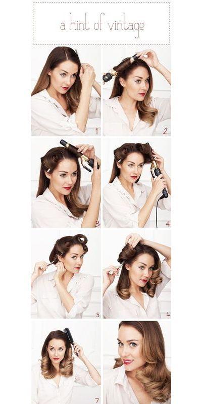 5 Dressed Up DIY Hairstyles