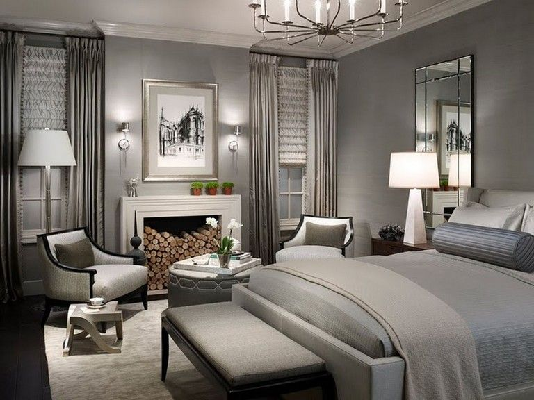 60+ Stunning Classy Master Bedroom Design and Decor Ideas ...