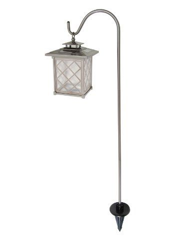Outdoor Light Stand Enchanting Brinkmann 82206024 Candle Lantern Solar Light Setbrinkmann Inspiration Design