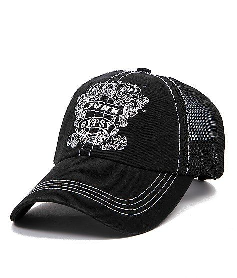 15991a8a06ec4 Junk Gypsy Trucker Hat sold at Buckle