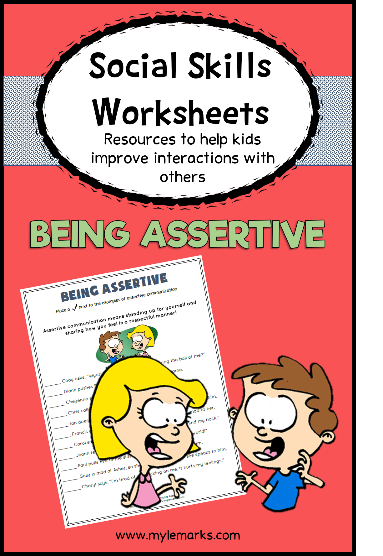 Teach Kids All About This Assertive Communication With His