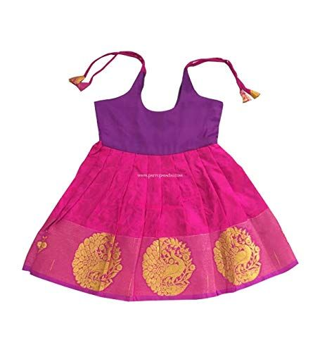 77defa31f1 Pin by Fabric Tulle Shop on Pattu Pavadai for Baby Girls & Kids in ...