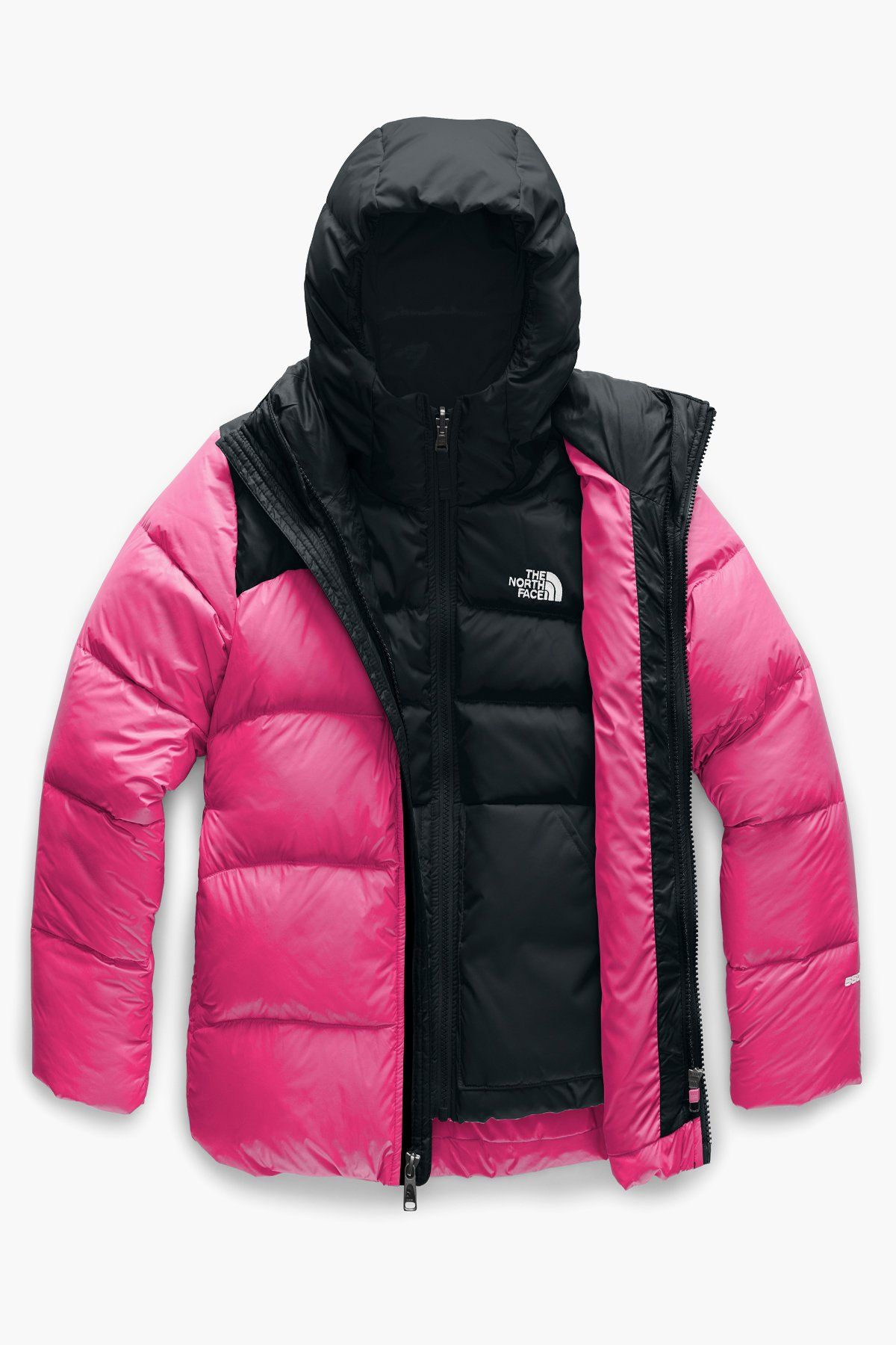 The North Face Double Down Triclimate Girls Jacket North Face Girls North Face Puffer Jacket Triclimate Jacket [ 1800 x 1200 Pixel ]