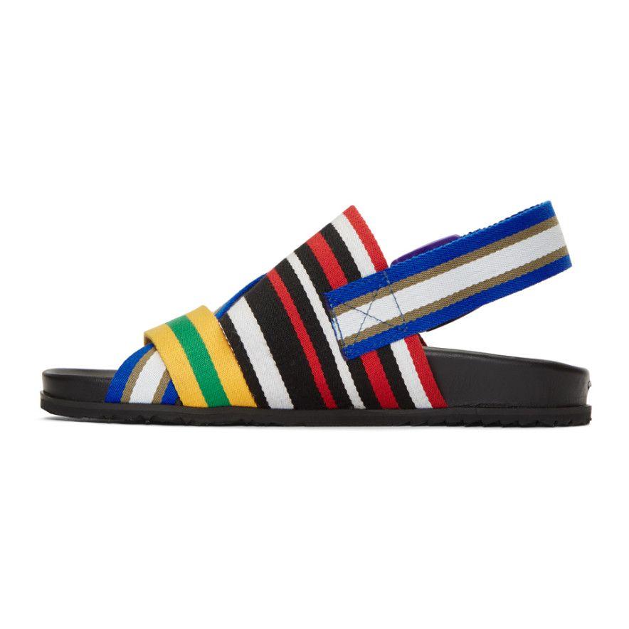 Maison Margiela Stretch Nylon Sandals VFMp746