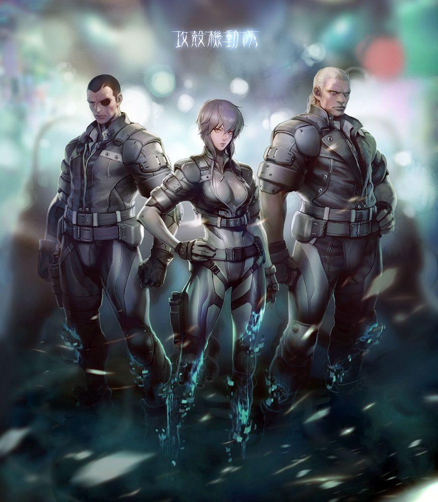 Ghost in the shell online main image, LEE JISU 甲殻機動隊