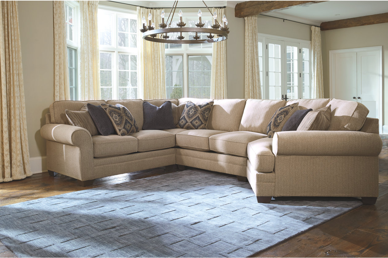 Amandine 4 Piece Sectional with Cuddler   Ashley Furniture ...