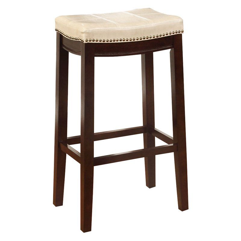 Remarkable Linon Claridge Patches Backless 30 In Bar Stool Jute Andrewgaddart Wooden Chair Designs For Living Room Andrewgaddartcom