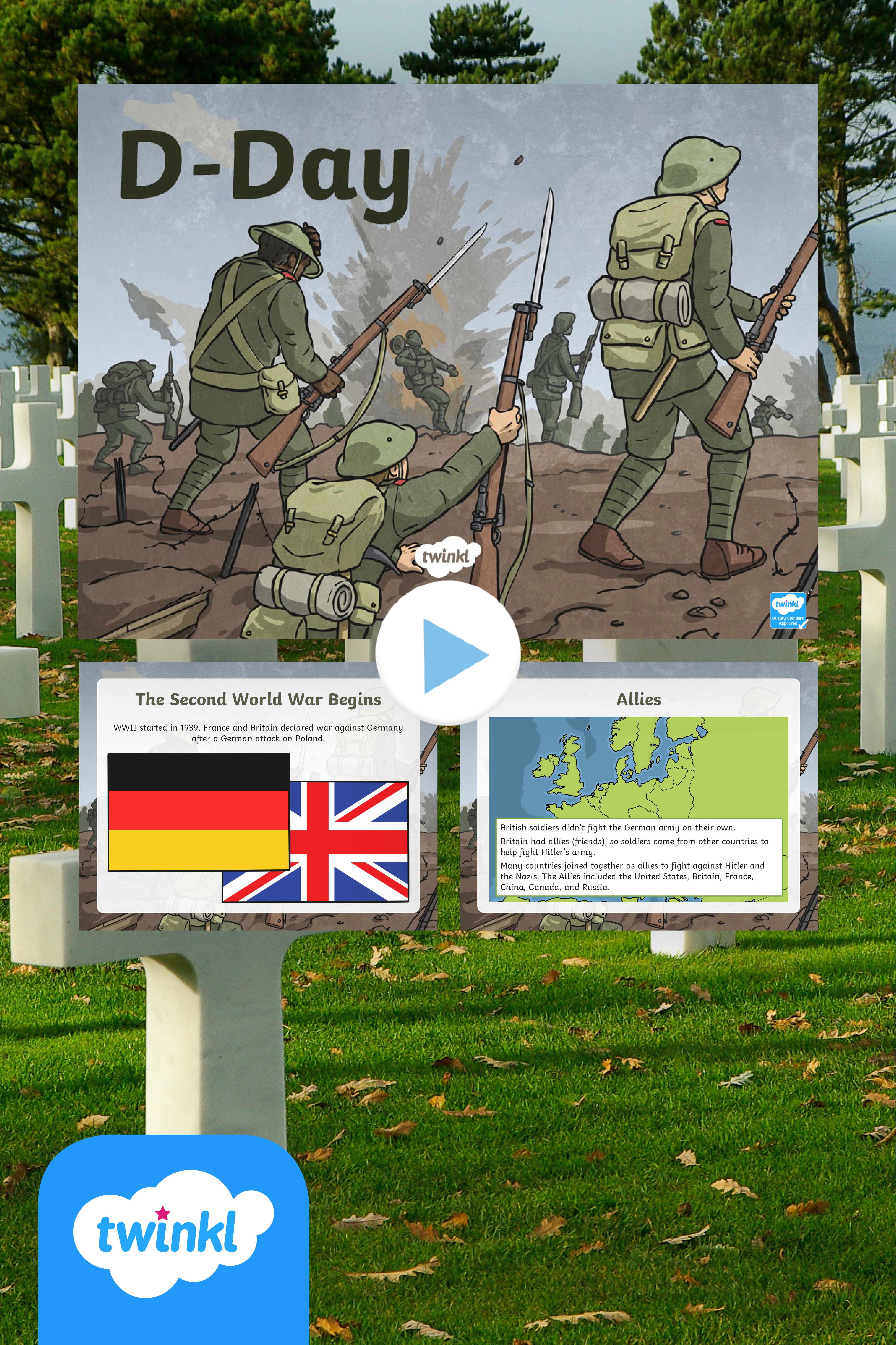 Explore World History Using Our D Day Informational