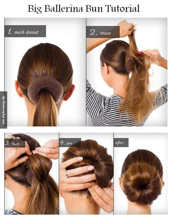 Duttkissen Perfekt Feststecken! <3 Haare Pinterest Peinados