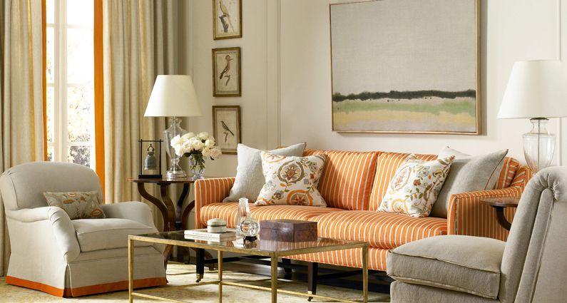 Suzanne Kasler Montmartre Home Living Room Den Chic Living Room #suzanne #kasler #living #room