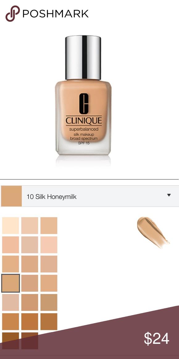 14 Silk Suede Clinique Superbalanced Silk Makeup NWT
