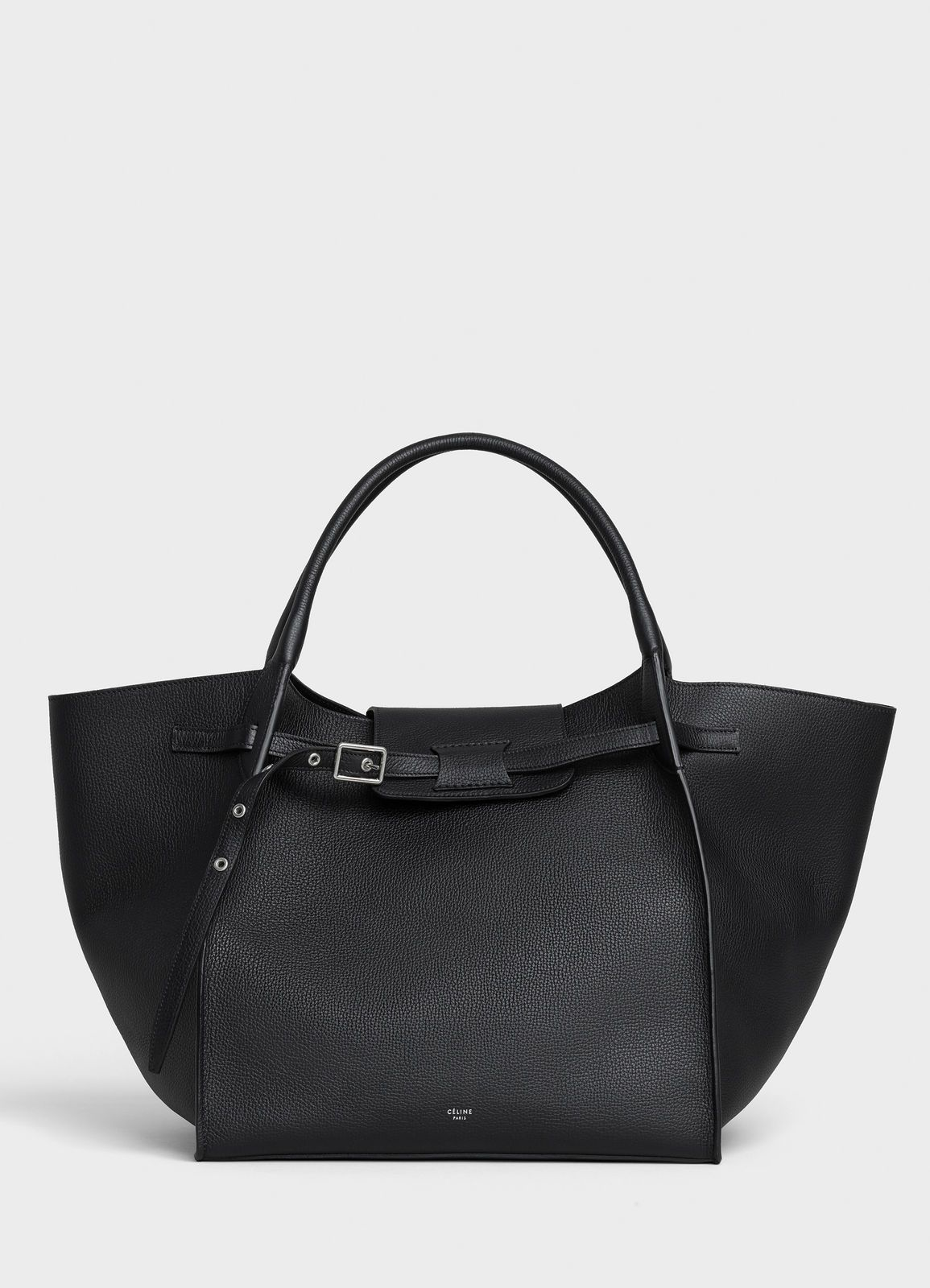 6d09f16c96 Medium Big bag in supple grained calfskin - Black - Official website ...
