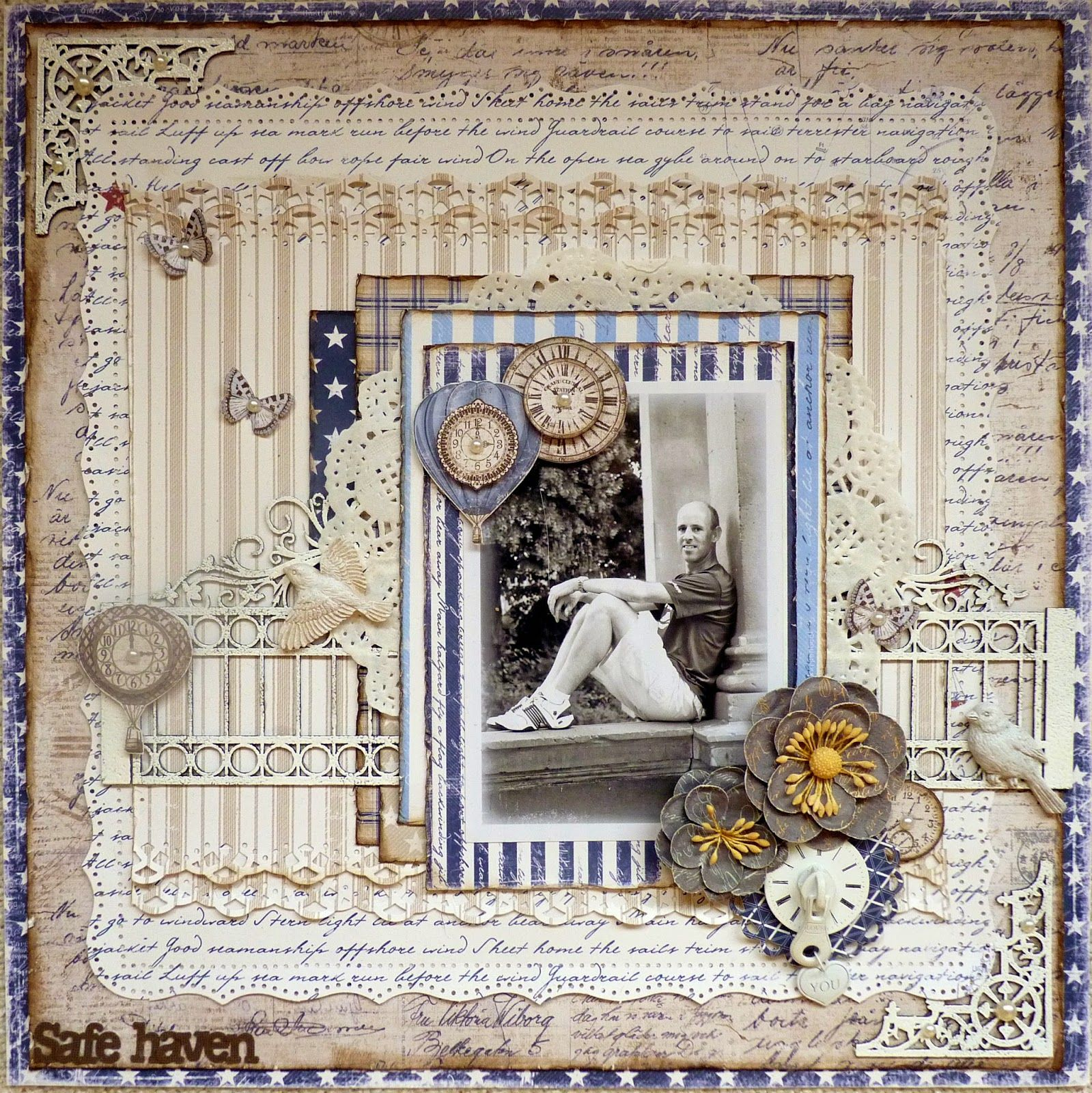 Safe haven *Maja Design Vintage Autumn Basics and Life by the Sea collections