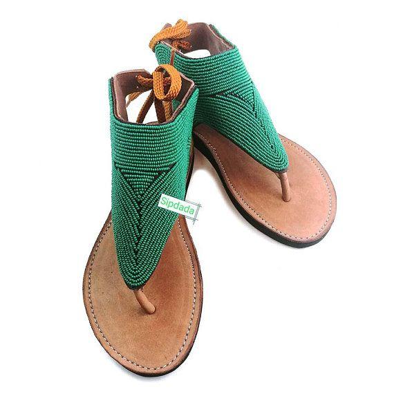 Kijani Leather Sandals