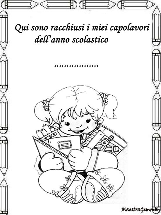 Cornicette copertine raccogliere for Maestra gemma diritti dei bambini