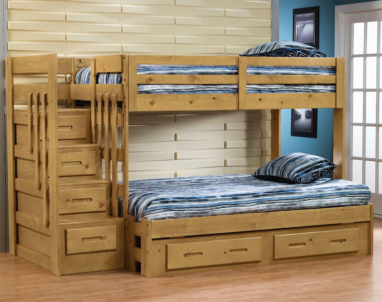 Lit Superposé Marche Escalier ces astucieux lits simple et double superposés avec escalier