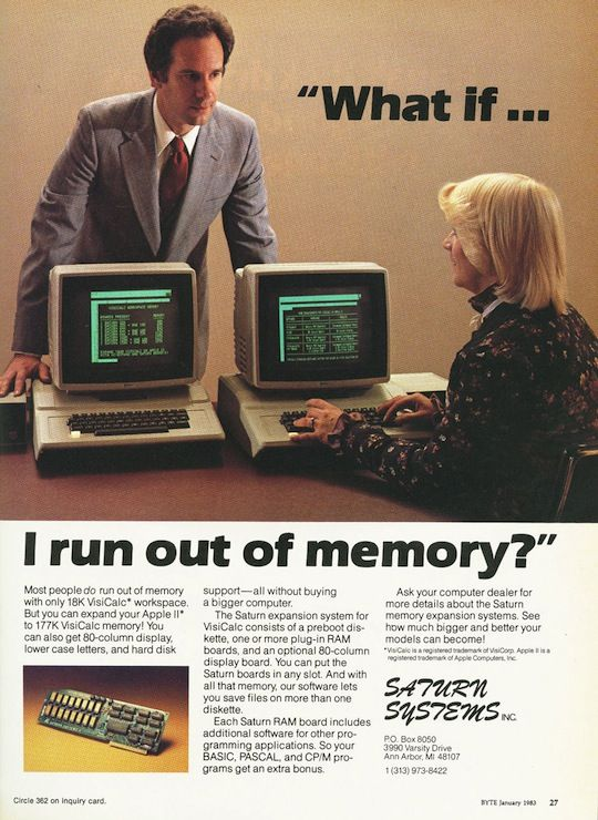 What's that! You don't think 18k of RAM is enough memory to run a ...