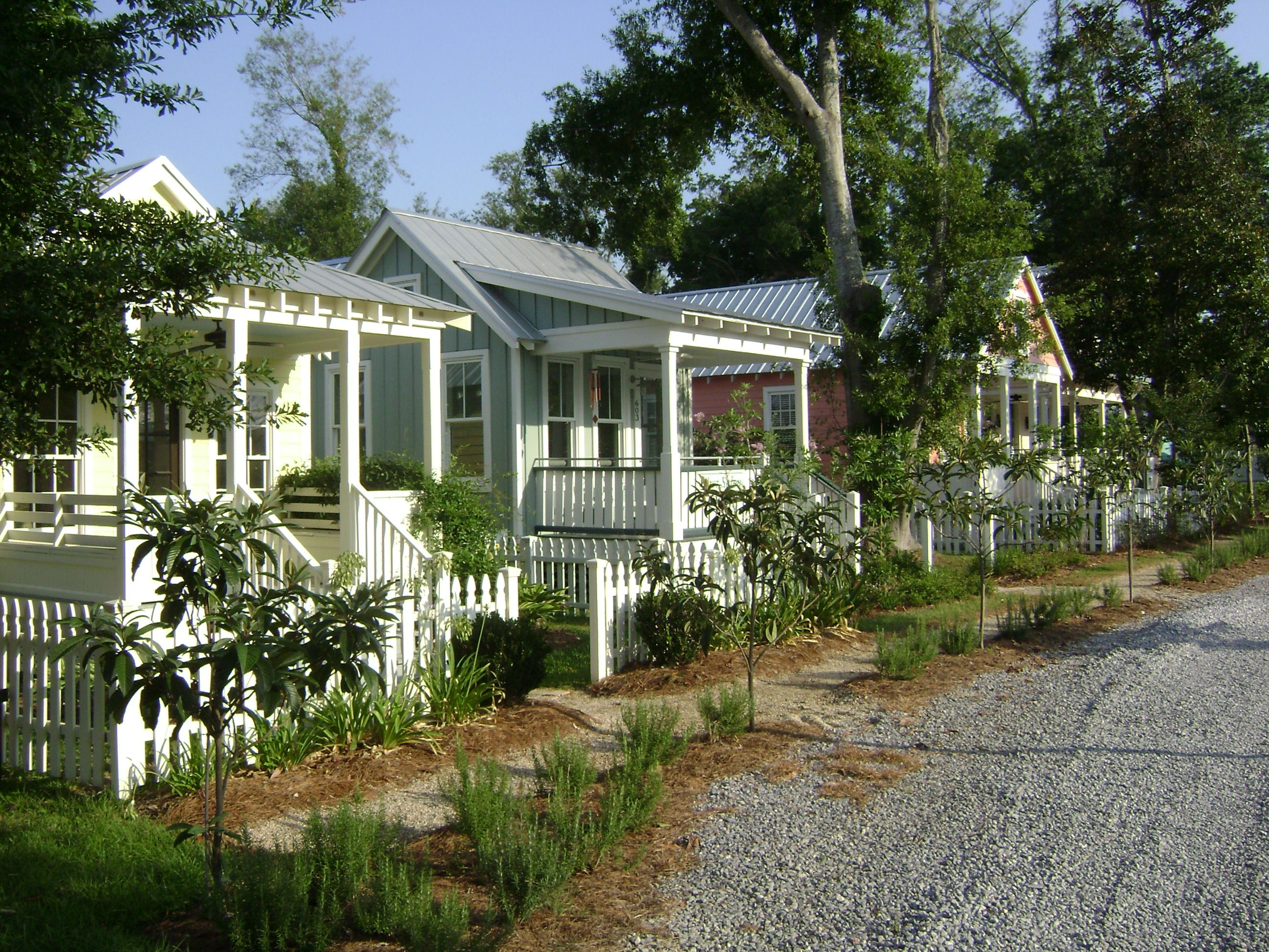 Would love a row of these as guest cottages katrina for Where can i buy a katrina cottage