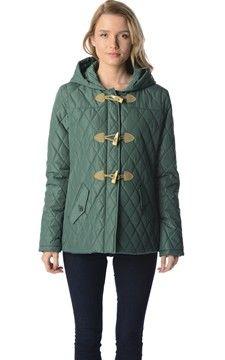 Padded duffle coat