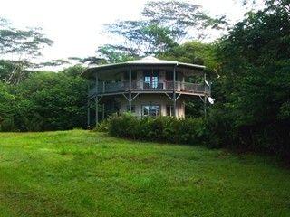 Pahoa Estate Rental: Tropical Round House On Big Island Of Hawaii   HomeAway