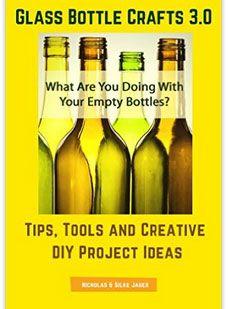 Great DIY crafting #ebook #bottlelamps #glassbottlecrafts