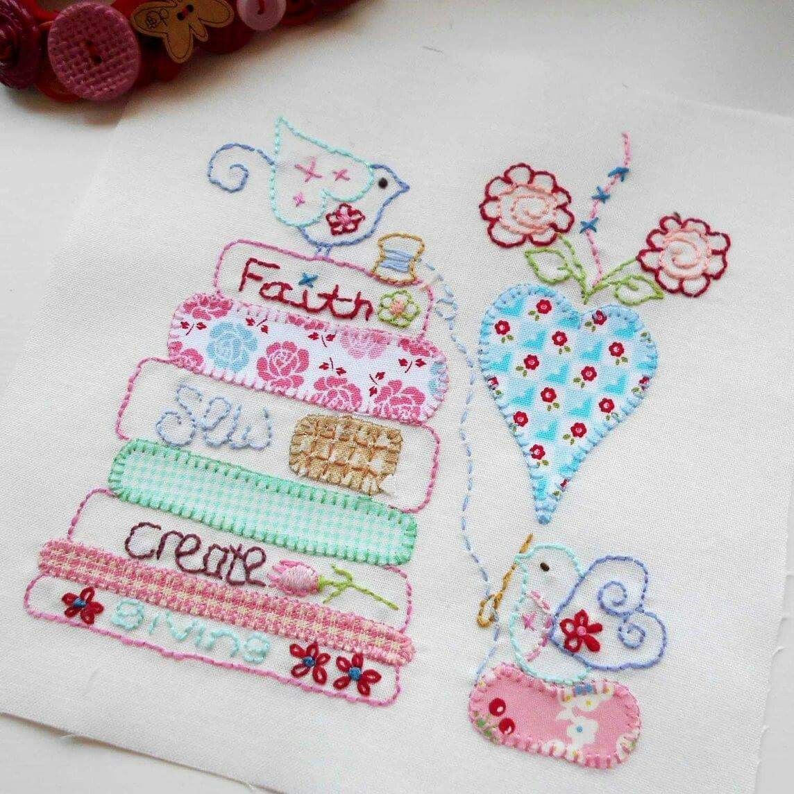 Pin de Debbie Thomas Martin en Embroidery Designs | Pinterest