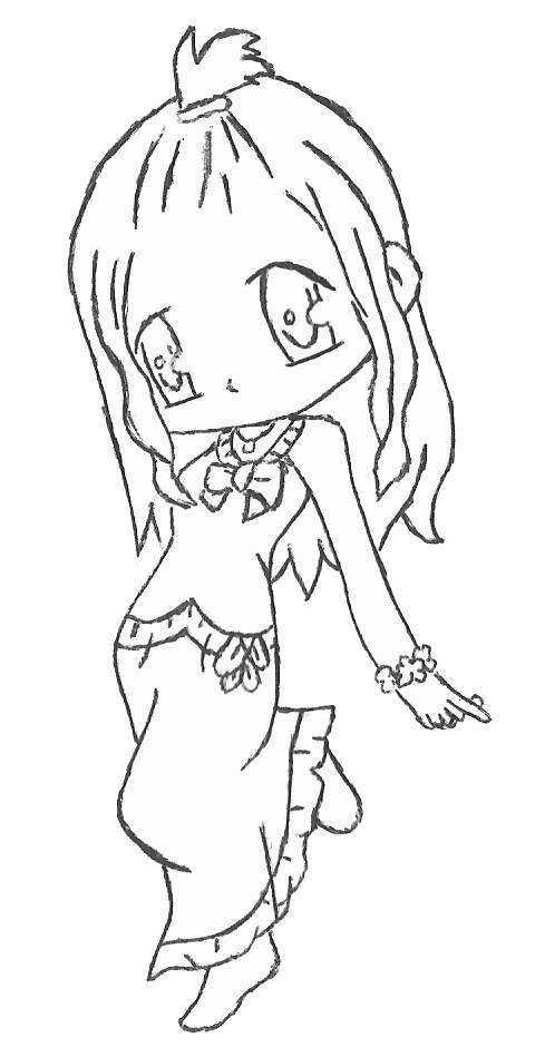 fairy tail chibi mira by rebeccaproductions on deviantart lineart fairy tail fairy tail. Black Bedroom Furniture Sets. Home Design Ideas