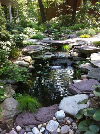 Pond Designed By Mary Kirk Menefee Intalled By Merrifield Garden