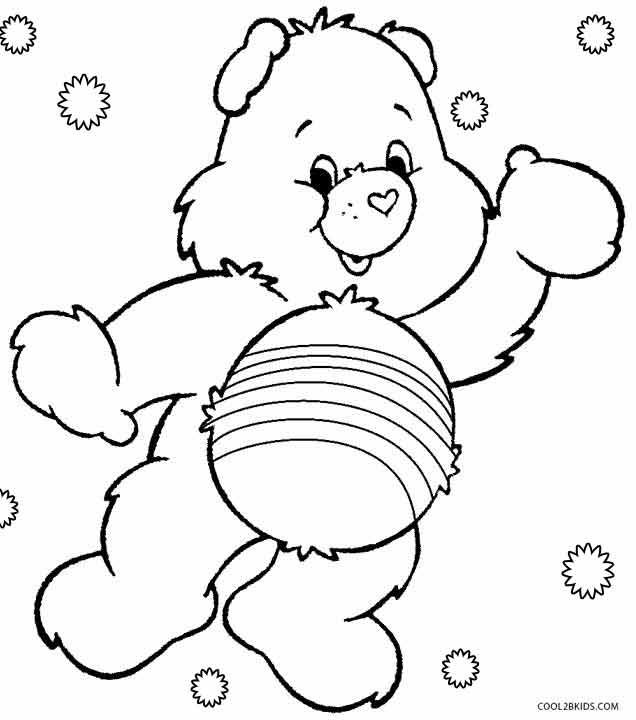 Printable Care Bears Coloring Pages For Kids Cool2bKids Cartoon