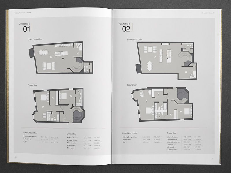 Bespoke Property Brochure Floor Plans  Architectural